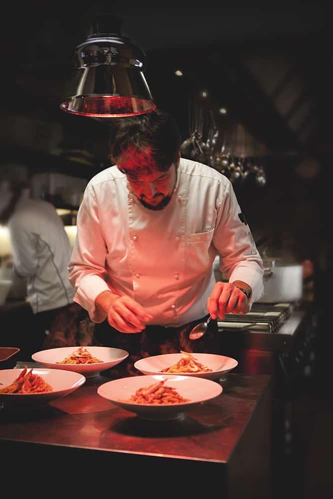 Fabrizio Caponi Chef Patron Ciocio Suvereto