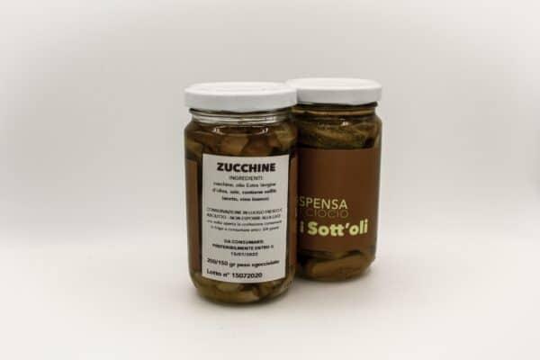 Zucchine sott'olio Km 0 La Dispensa I'Ciocio