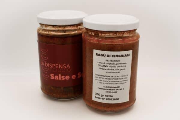 Ragù di cinghiale Toscana La Dispensa Del Ciocio